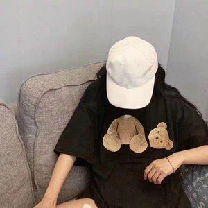 2020 Мужские рубашки Женские летние Мода Мужские футболки сердца Открытый Streetwear Top тройники Hip Hop Мужская одежда