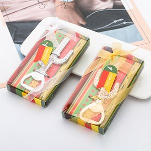 Botella nuevo metal Cactus cerveza abridor caja de regalo paquete de bodas regalo del partido del favor de DHL 1401