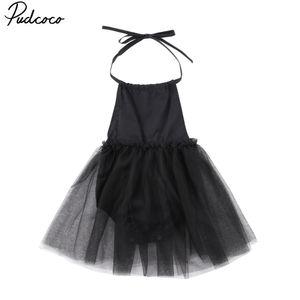 Pudcoco الاطفال طفلة الأسود الرافعة عيون الأميرة الحزب فستان الزفاف المسابقة الرسمية فساتين الملابس