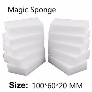 100pc Sponge Eraser Cozinha espanador limpa casa limpa Acessório microfibra Dish Limpeza melamina esponja nano atacado 10 * 6 * 2 centímetros