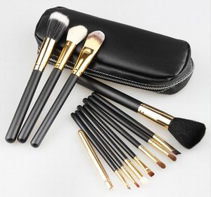 Nude 12 New Nude Makeup Brushes Pieces Professional Brush Sets Gold Package Or Black Package