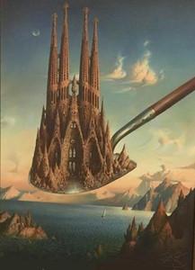 Владимир куш-мера величия высокое качество ручная роспись HD печать знаменитая абстрактная настенная живопись маслом на холсте мульти размеры 200421