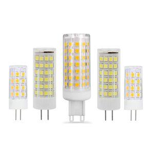 G4 G9 LED CA 220V 110V Mini Lampada LED lampadina G4 G9 2835SMD 3W 5W 7W 9W luci Sostituire alogena G9 G4 Spotlight