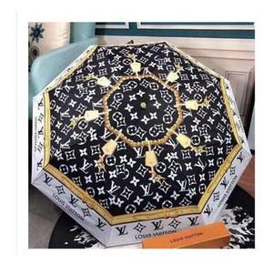 Proteção Sombra NOVO Camellia flor guarda-chuva Mulheres 3 vezes de UV ensolarado e chuvoso Umbrella 8 cores