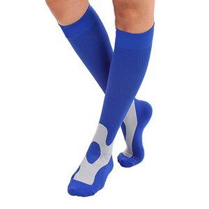 ROPALIA Fashion Unisex Men Women Leg Support Stretch Compression Socks Below Knee Socks