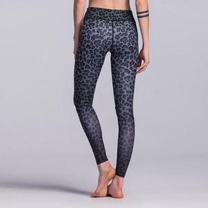 Venda Por Atacado leopardo calças de yoga impressão sexy mulheres roupas de ginástica yoga calças esportivas collants basculador executando calças leggings finas sportswear