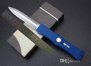 4 couleurs classiques de mesure Nemesis seule action D / E lame aluminium 6061 poignée couteau auto-défense de couteau satin 1pcs freeshipping Adker