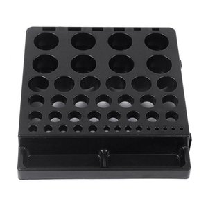 Durable Lathe Tool Stand Probe Inserts Collecting Organizer CNC End Cutter Storage Box Collet Chuck For Wrench Parts Milling