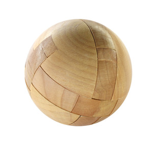Wooden Puzzle Magic Ball Intelligence Game Brain Teasers Toy Adults Kids Toy Games and Puzzles Toy Child Gift