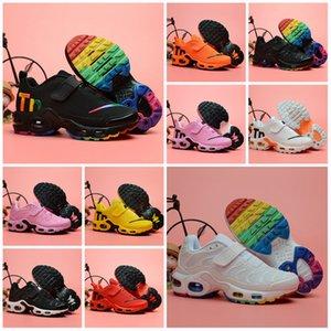 2019 Chaussures Tn Bambini Sport Casual Shoes ragazzi infantile delle ragazze tn plus ultra KUP Olimpiadi Bianco Nero da jogging scarpe da basket Tns Zapatillaes