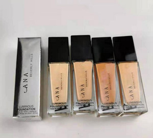 Top Quality Duplo Wear líquido Foundation ficar no lugar Maquiagem 4 cores fundação Almofada Nude Vara Fundação Radiant Maquiagem