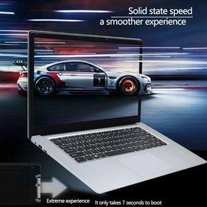 дешевы 2020 НОВАЯ оптовая 15,6-дюймовый Student Laptop 8GB RAM 1TB SSD Notebook для процессоров Intel Quad Core Ultrabook с веб-камерой Bluetooth
