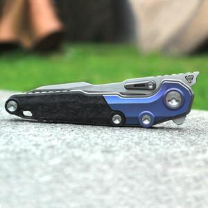 NOC cuchillos 2019 cuchillo lastest MT-07 M390 titanio remiendo de la fibra de aleación de carbono herramientas al aire libre cuchillo de supervivencia EDC cuchillo de bolsillo