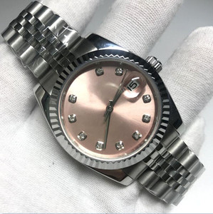 17 colors V3 Automatic 2813 Mechanical Watch women Datejust 41mm pink dial solid Clasp President Men Watches Male sweeping ladies watch