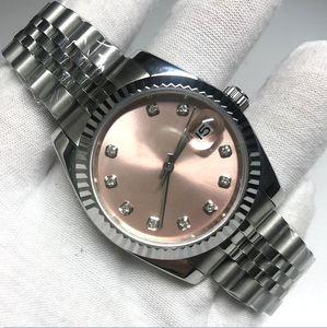 17 색 V3 자동 2813 기계식 시계 여성 Datejust 41mm 핑크색 다이얼 솔리드 걸쇠 대통령 남자 시계 남성 청소 숙녀 시계