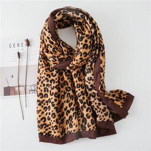 Neueste Leopard-Schal für Frauen klassische Winter-Kuscheldecke Feine Design Damen Große Pashmina Stola Recommand