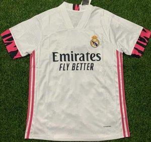 2020 Real Madrid # 7 PERICOLO maglie calcio 20 21 MODRIC ASENSIO maglia da calcio Vinicio JR Isco Kroos Football Shirt qualità tailandese Jersey