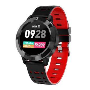 CF58 Smart Watch кровь кислород кровяное давление монитор сердечного ритма трекер смарт наручные часы фитнес трекер браслет для iPhone Android телефона