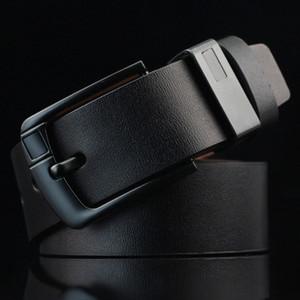 أعلى بيع مصمم delts جلد الرجال النساء حزام الذكور الأحزمة الفاخرة القهوة السوداء البني الألوان امرأة رجل حزام كبير إبرة مشبك الجينز حزام