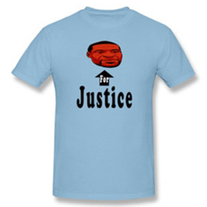 Nueva Justicia para George Floyd I Can Breathe T J Men 'S Básica de manga corta T-Camisa cómodo moda asiática el tamaño S-6XL