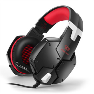 KOTION EACH G1200 Gaming Headphones w Mic Stereo Bass for PS4 PC Laptop Mobile Active Noise Cancelling Comfortable Game Headsets