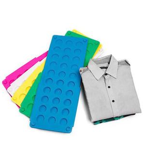 Retournez pliant Conseil Adulte Enfant Vêtements magiques Dossier Conseil pliant Multic Funcation plastique Dossier vitesse rapide vêtement outil de finition LSK125