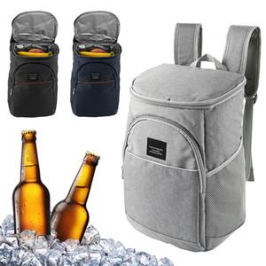piquenique familiar mochila isolada Grande grande mochila de resfriamento térmico grossa