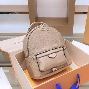 배낭 양각 배낭 여주 송아지 가죽 정품 가죽 편지 지퍼 Fannypack 패션 여행 가방 파스텔 높은 품질 빠른 배송