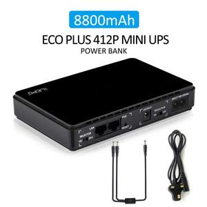 Fornecimento Professional Para Ama-zon POE 430 Funções Mini UPS Sistema de Alimentação Ininterrupta Para Router Com POE Built-in 8800mAh bateria de lítio