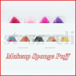 Marca Maquiagem Foundation Sponge Puff cabaça Mulheres Blending Fundação Cosmetic Puff Flawless sopro de pó suave com caixa de plástico