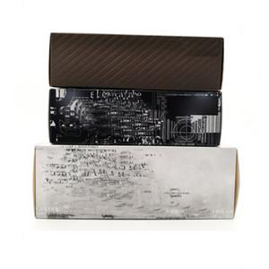Известные солнцезащитные очки розничные коробки на заказ Солнцезащитные очки Пакеты с очки сумка ткань ручной Tag Test Card Zipper Box Пластиковый корпус оптовая