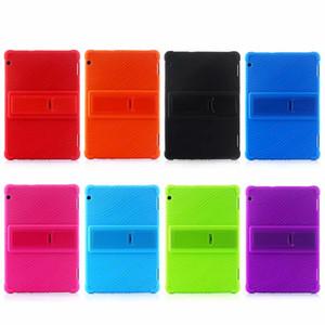 50pcs macia Silicon Case Capa Voltar TPU Suporte para Huawei MediaPad T5 10 AGS2-W09 AGS2-L09 AGS2-L03 AGS2-W19 10,1 polegadas Tablet