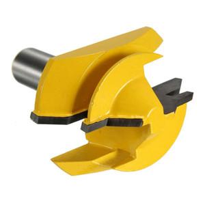 Freeshipping 3Pcs 1/2 polegada Shank Bloqueio Mitre Glue Router Joint Bit 45 Degree Woodwork cortador Set