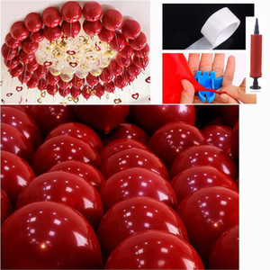 50 pcs red color wedding party balloons kids toys balloons New Photography Decoration High Quality Inflatable Air Balls New Arrival