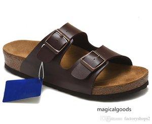 Arizona Hotsell Hombres Mujeres pisos casualshoes unisex imprimen colores mezclados flip flop de artiodáctilos abierto zapatillas sandalias de corcho