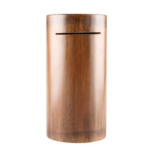 New creative bamboo wood crafts gifts large capacity drop resistance natural bamboo tube coin saving pot piggy bank money box
