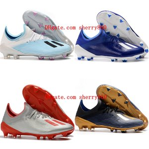 2020 new arrival mens boys soccer shoes X 19.1 FG soccer boots women children football boots cheap scarpe calcio size 35-45