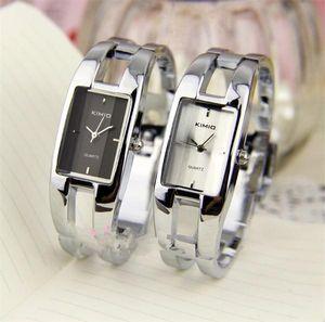 2020 Neue Kimio Modemarke Kleid Damen Armband Uhren Für Frauen Diamant Edelstahl Quarzuhren Relogio Feminino