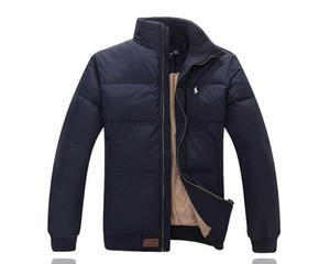 ceket lüks aşağı açık kayak takım kış kısa kalın aşağı ceket erkekler gençlik renk eşleştirme ceket rüzgar geçirmez erkekler sıcak satış markası