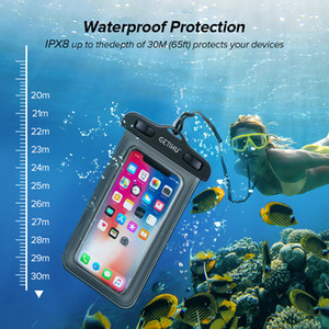 Universale Dry Bag immersioni subacquee piscina Cases Custodia impermeabile per iPhone 11 X XS MAX 8 7 6 s 5 Plus sacchetto della copertura del sacchetto della cassa del telefono impermeabile