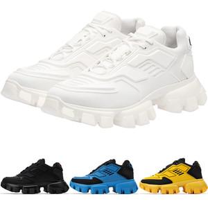 Nuova avanguardia Donne Mesh Mens Cloudbust Thunder Knit scarpe da tennis dei pattini casuali Nero Bianco Moda Fantascienza formatori 1E819L-3KR