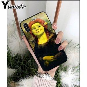 telefone dos desenhos animados Moive Shrek Alta Qualidade Capa Para iphonePhone 8 7 6 6S Mais 5 5S SE XR X XS MAX Coque Shell