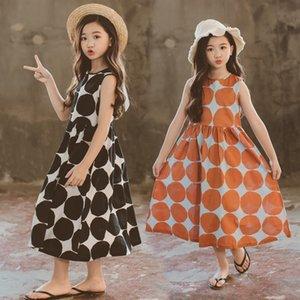 Summer Wear Dress Child New Beach Longuette Pure Cotton Children Dress Parenting Mother And Daughter Tide