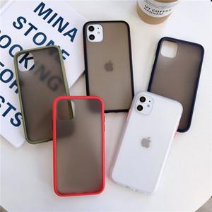 Мобильные аксессуары кожа чувство чехол для iphone xs max матовая текстура крышка телефона PC + TPU матовый чехол для телефона