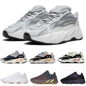 Wave Runner 700 Kanye West Glow in Dark Reflective line 2018 New Running shoes size 36-46 With botssYEzZYYEzZYs v2 350boost