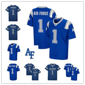 Personalizzati Colosseum Royal Air Force Falcons pullover di formato donne degli uomini della gioventù blu cucito NCAA College Football Jersey S-XXXL