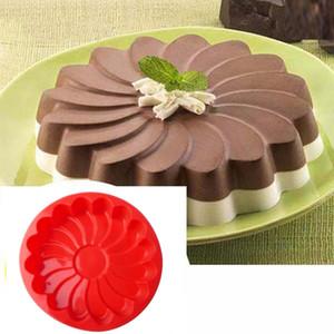 도구를 장식 1 개 DIY 실리콘 해바라기 모양 케이크 베이킹 도구 금형 꽃 케이크 베이킹 금형 금형