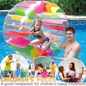 Детский Красочные Надувные колеса роликовый Float Giant Ролл Бал для детей бассейн игрушки Надувные Roller Float g3
