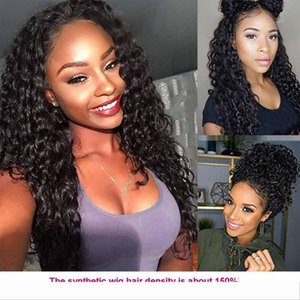 New Arrival Kinky Curly Lace Front Wigs Natural Hairline Peruvian Lace Front Wigs With Baby Hair Cheap 150 Density Peruvian Human Hair Wigs