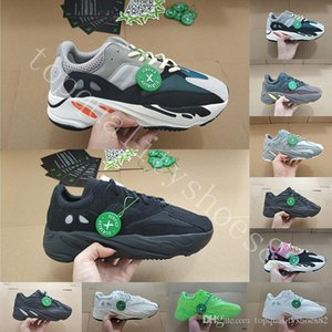 With Box Wave Runner 700 V2 Mens Running Shoes Mauve Inertia Geode Static Reflective Kanye West AthleticTrainers Women Sports Sneaker 36-46